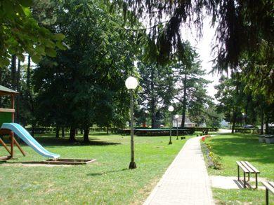 park u centru banje vrdnik
